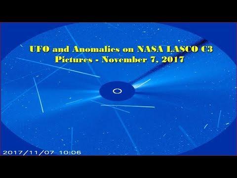 nouvel ordre mondial | UFO and Anomalies on NASA LASCO C3 Pictures - November 7, 2017
