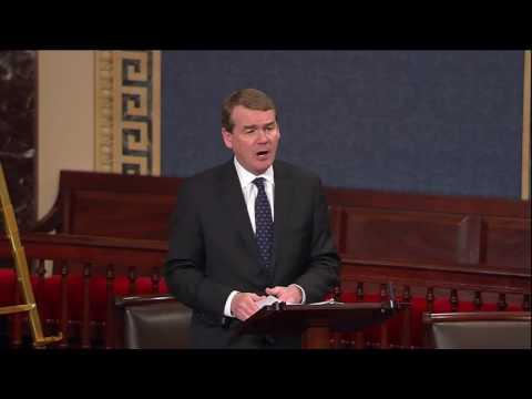 Sen. Michael Bennet Remarks on President