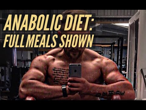 Anabolic Diet: Full Day Of Eating, Cardio & Steroids!