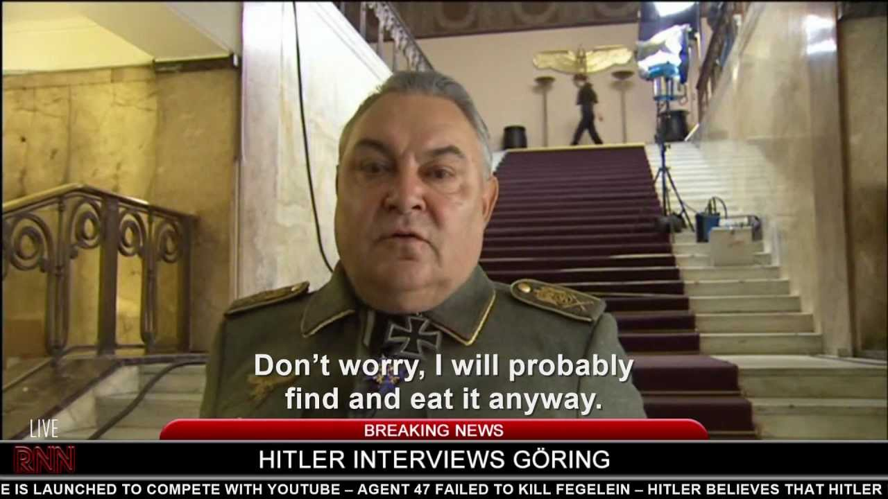 Hitler interviews Göring