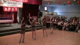 華運 TCAAT 2013 line dance waka waka shakira CLDAA