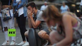 Dolor, miedo, rabia, perdón: Sentimientos opuestos tras atentados en Cataluña