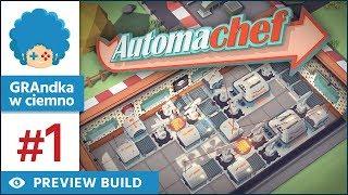 Automachef PL #1 | Factorio + Overcooked, czyli fabryka żarła!