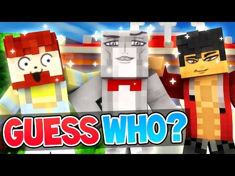 THE MOST HANDSOME BOY | Minecraft Guess Who