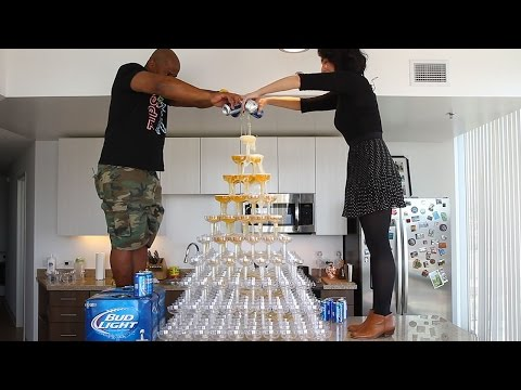 Beer Tower - Tipsy Bartender