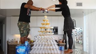 Beer Tower - Tipsy Bartender