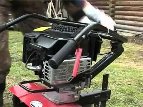 ТМЗ. Самодельный мотоблок с мотором от Муравья - YouTube