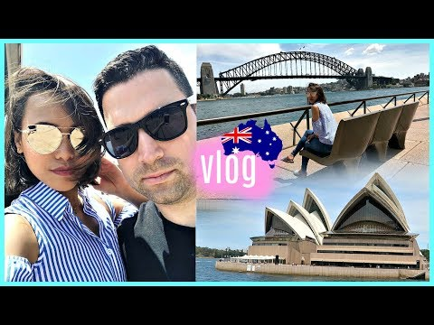 MY FIRST TIME IN SYDNEY AUSTRALIA! ❤️ | rhazevlogs