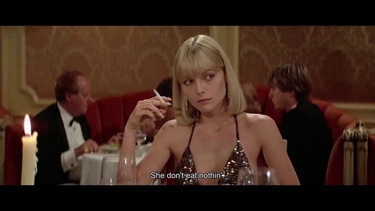 With The Right Woman Scarface Quote: Best Scene Of Scarface, And In The World