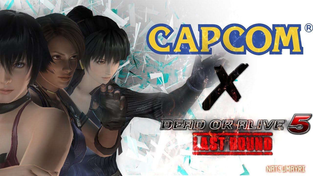 DEAD OR ALIVE 5 LAST ROUND - RESIDENT EVIL COSTUMES TRAILER