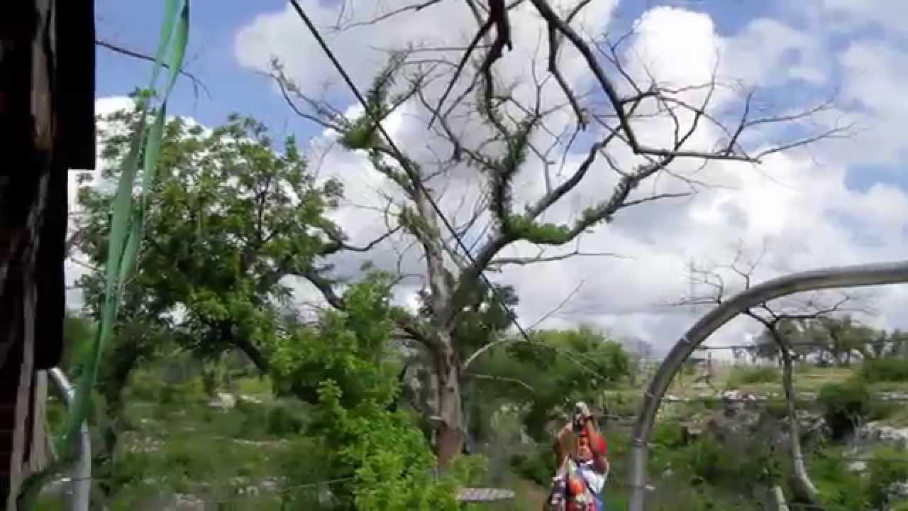 Ziplining At Cypress Vally Canopy Tours Near Lake Travis