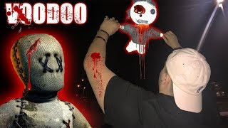 DO NOT USE A REAL LIFE VOODOO DOLL AT 3 AM || DO NOT TRY THIS || 3 AM VOODOO DOLL CHALLENGE!!