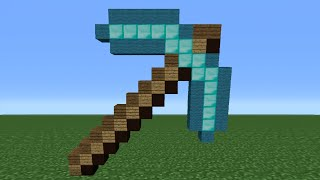 Minecraft Tutorial: How To Make A Diamond Pickaxe