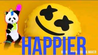 Just dance 2019 fanmade Mashup marshmello happier Video