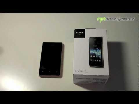 Sony Xperia E dual - design