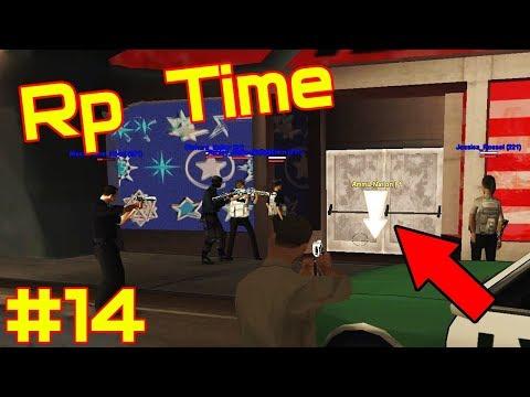 Rp Time #14 Работа полицеского в Gta San Andreas! Stage Rp