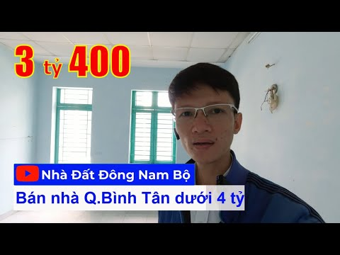 Video nhà bán hẻm 5m Hương Lộ 2, Bình Trị Đông A, quận Bình Tân