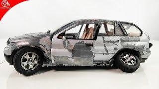 Restoration Damaged BMW X5 - Old SuperCar SUV Model Car Restoration