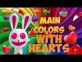 Learn main colors with hearts   Cartoon And Animated For Kids