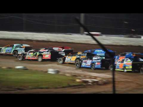 4/5 Jeff Spacek Modified Feature ABC Raceway 6-18-16