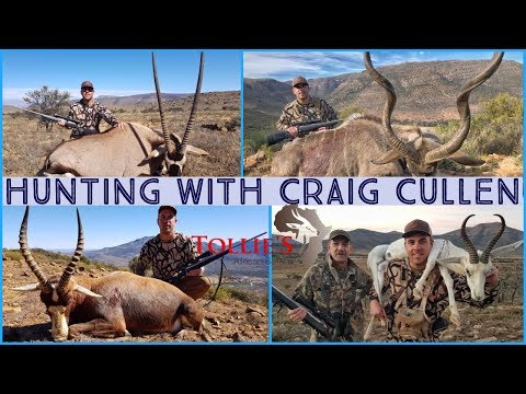 Hunting In Africa. Gemsbuck, Blesbuck, Springbuck And Kudu Hunting At Tollies African Safaris