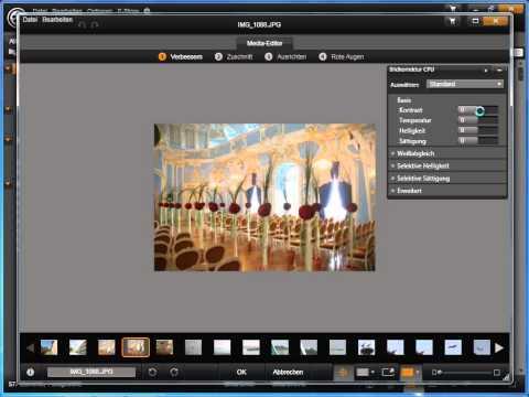 Fotos bearbeiten in Avid studio und Pinnacle Studio