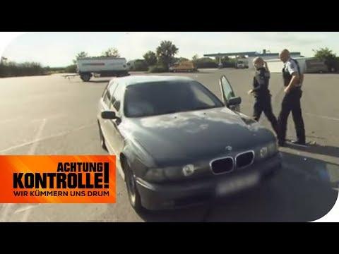 Illegale Schleuser? Polnischer BMW in der Kontrolle | Achtung Kontrolle | kabel eins