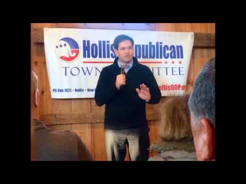 """Media titillated that Rubio supposedly """"skyrocketing"""" in New Hampshire (Limbaugh)"""