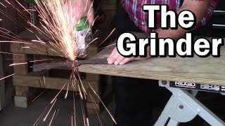 Many things a Grinder can do.