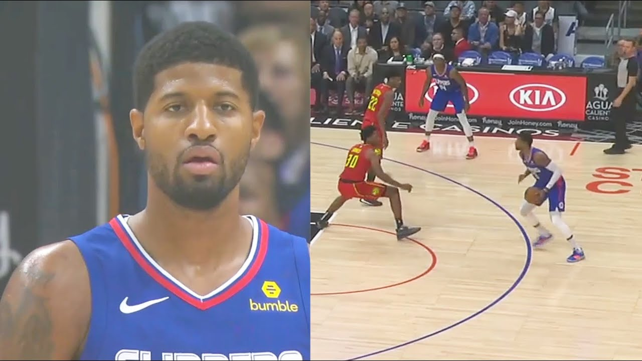 Paul George Shocks Clippers Crowd In Home Debut & Told Entire World He Is Back! Clippers vs Hawk