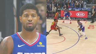 Paul George Shocks Clippers Crowd In Home Debut & Told Entire World He Is Back! Clippers vs Hawks