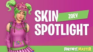 Zoey Skin Spotlight (Fortnite Battle Royale)