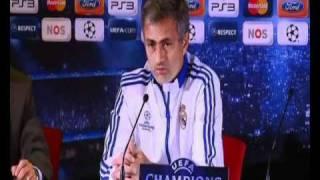 Jose Mourinho interview on Champions League match against Ajax