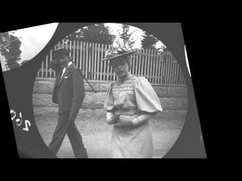 The streets of Oslo (Kristiania) around 1890 taken by hidden camera -by Carl Størmer (1/3)