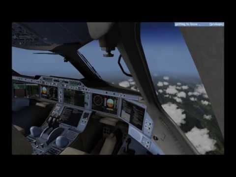 getting to know... - FlightFactor A350 XWB on XP 10.36 - Flight to Toulouse Part 11 [German]