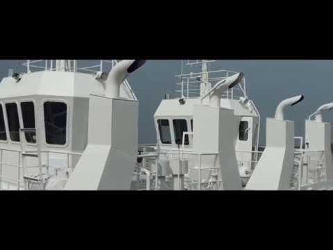 Vuot Song Shipyard - Tour and visit of 16m Tugboats
