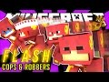GOING CRAZY FAST! | Minecraft Modded Cops N Robbers (The Flash Mod)