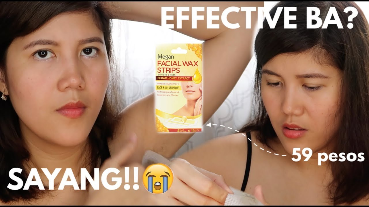 Akala Ko Okay Ka Pero Ft Megan Facial Wax Strips Demo Review