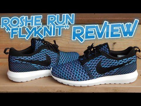 Nike Roshe Run Flyknit Blue