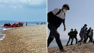 video: More than 10,000 migrants reach UK this year as Channel crossings hit daily record
