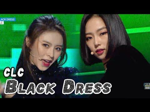 [Comeback Stage] CLC - BLACK DRESS, 씨엘씨 - 블랙드레스 Show Music core 20180224