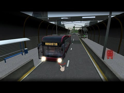 (real mode)Bus Simulator 17.Munchen industry level 5