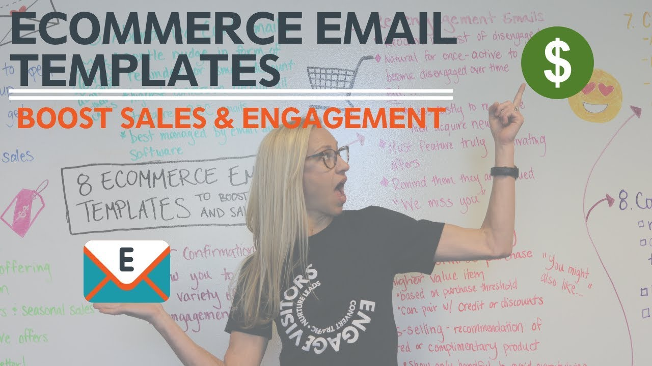 8 eCommerce Email Templates to Boost Sales & Engagement - YouTube