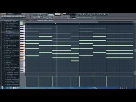 Hardwell feat. Chris Jones - Young Again-( Fl Studio Tutorial )