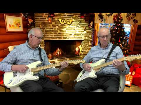 Peace on earth/little drummer boy - David Bowie and Bing Crosby - instro cover by Dave Monk