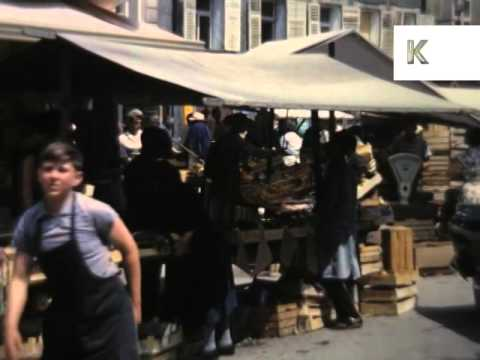 1960s Salzburg, Austria, Colour Home Movie Footage, Archive Film