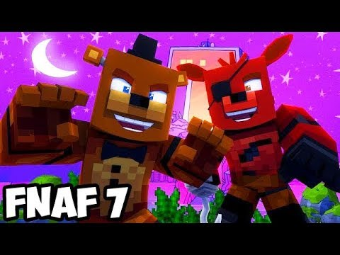 Minecraft Teen Titans GO FIVE NIGHTS WITH FREDDY REAL LIFE NIGHT #1 (FNAF SISTER LOCATION Roleplay)