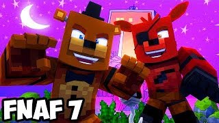 Minecraft Five Nights at Freddy's with Teen Titans #1! (Minecraft FNAF Roleplay)