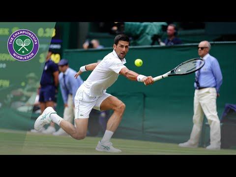 Match Point: Novak Djokovic vs David Goffin Wimbledon 2019