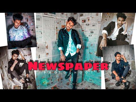 newspaper-studio-setup-&-photoshoot-at-home-||-new-trending-quarantine-photoshoot-at-home-2020